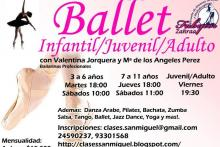 Nuestros Cursos de Ballet