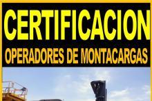 FORMACION DE OPERADORES DE MONTACARGAS