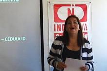 curso Lengua de Señas, relatora Soledad Arancibia