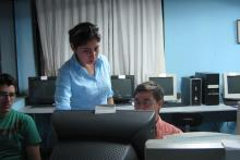 curso de computación, relatora Edith Tejada