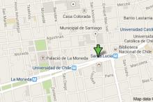 Ubicación de nuestra Sede Santiago de Chile